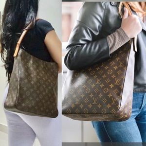 ZIPPERED 💕DISCONTINUED💕 Louis Vuitton Tote